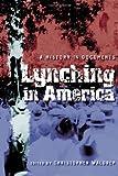 Lynching in America, , 0814793983