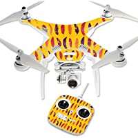 Skin For DJI Phantom 3 Standard – Feathers   MightySkins Protective, Durable, and Unique Vinyl Decal wrap cover   Easy To Apply, Remove, and Change Styles   Made in the USA