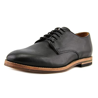 H by Hudson Hadstone Round Toe Leather Oxford