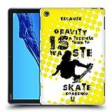 Head Case Designs Skateboarding Extreme Sports Soft Gel Case Compatible for Huawei MediaPad M5 Lite
