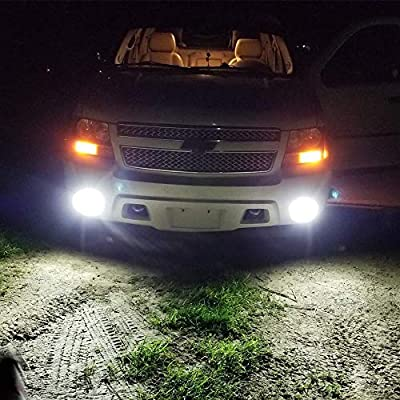 Alla Lighting 2800lm H8 H11 LED Fog Lights Bulbs Xtreme Super Bright High Power COB-72 Cars Trucks H16 H11 LED Foglights DRL Replacement, 6500K Cool Xenon White: Automotive