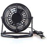 BuyinCoins Mini ventilateur USB de bureau pour ordinateur portable/PC/Mac