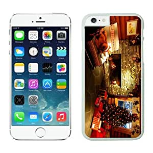 Iphone 6 Case Cover Slim Fit Tpu Protector Shock Absorbent Case Christmas Iphone 6 Cases 009 White 4.7