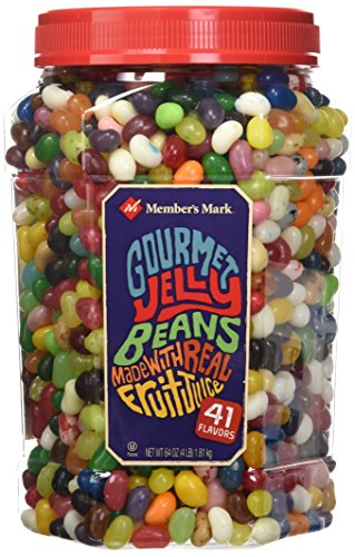 Daily Chef Gourmet Jelly Beans, 4 Pound (Pack of - Turned Pedestal