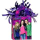 iCarly and Friends Birthday Party Mini Tote Bag Balloon Weight Decoration, Plastic Foil , 5 Ounces