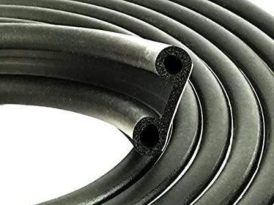 """ESI Super Cap Seal 20 FT (1 1/2"""" Width x 1/2"""" Height x 20' Length) EPDM Rubber for Caps 200 lbs or less"""