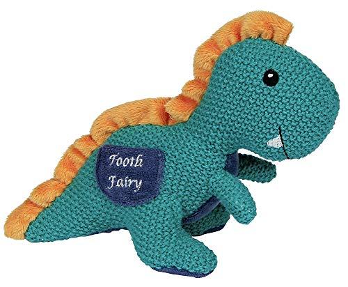 nnosaurus Dino Dinosaur Tooth Fairy Pillow for Boys or Girls ()