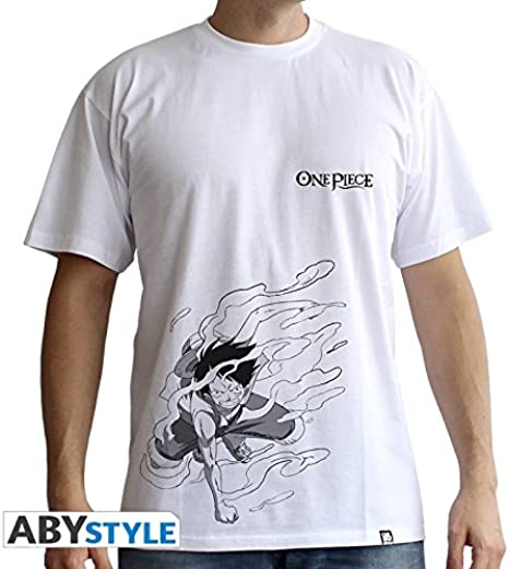 CAMISETA ONE PIECE LUFFY GEAR 2 XL: Amazon.es: Ropa y accesorios