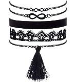 Tassel 8-shaped lace fashion weave bracelet
