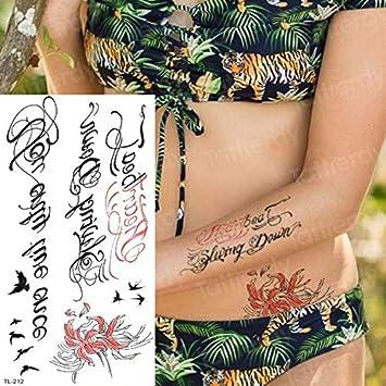 4 Unids, Tatuaje Manga Mujeres Tatuajes Temporales Pegatinas ...