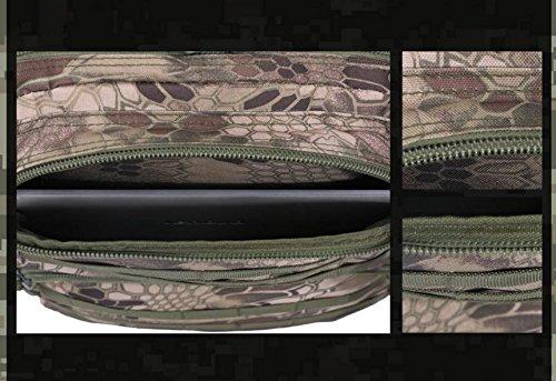 HCLHWYDHCLHWYD-Camuflaje mochila de senderismo bolsa de hombres y mujeres al aire libre bolsas impermeables de montañismo paquete de camping , 2 3