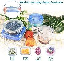 Amazon.com: Tapas de silicona reutilizables para cuencos ...