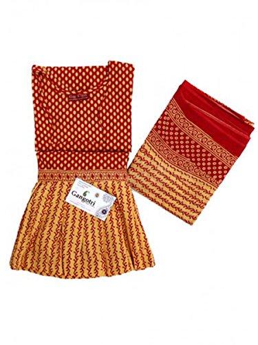 Skirt Top And Dupatta Set