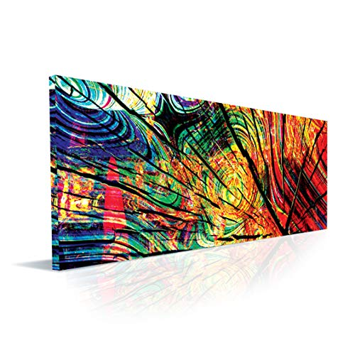 Ideas Painting Rooms (Wall art canvas print abstract painting by chilled BEARt - for living room, bedroom, home, office, kitchen or bathroom ,Perfect home and wall decor , A great gift idea)