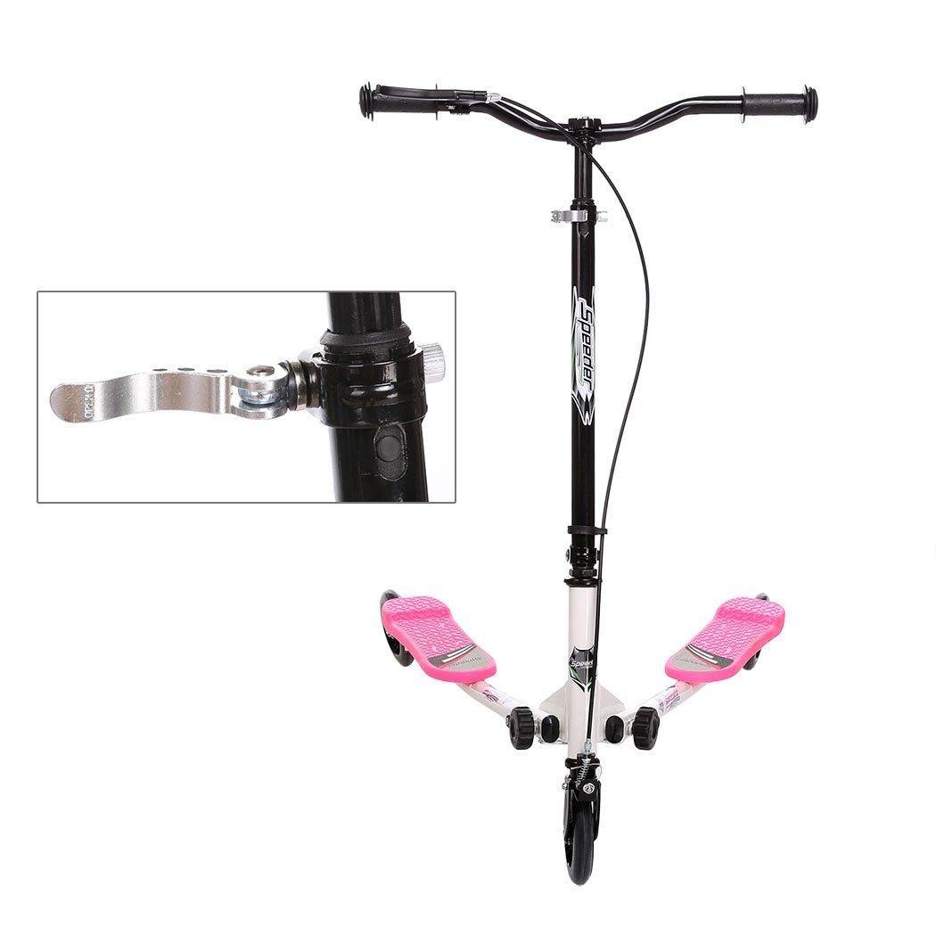 Befied Scooter Patinete Plegable 3 ruedas para niños más de ...