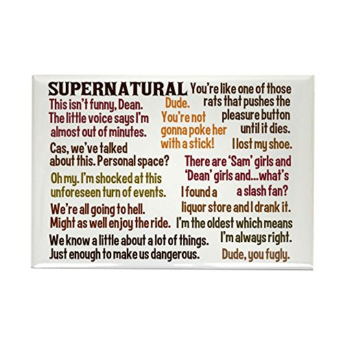 CafePress Supernatural Rectangle Magnet Refrigerator