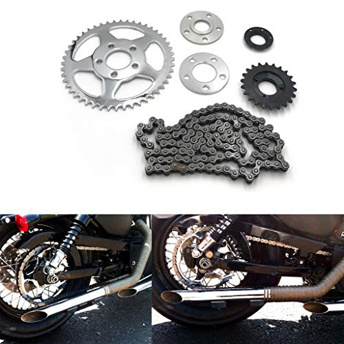 XKH- Replacement of Chain Drive Transmission Sprocket Conversion Kit Harley Sportster 2000-2019 XL ()