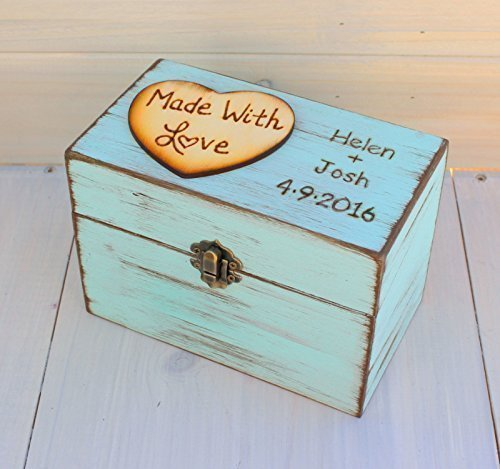 rustic recipe boxes recipe storage wood recipe box mothers day gift bridal