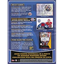 2006 Topps Football Cards Unopened Jumbo Pack (35 cards/pack)