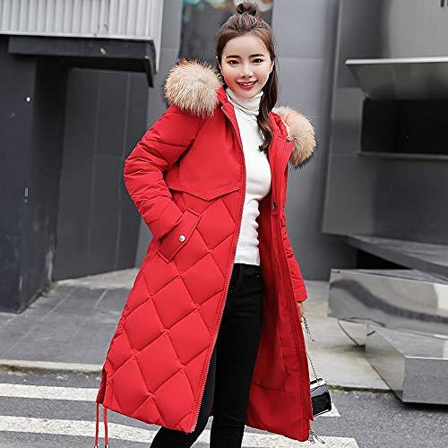 OSYARD Coton Longues Manches Hiver Femme Nouveaut Mode Hooded Chaud Long Manteau Parka Trench vtUrwt