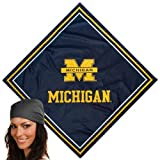 Best Wolverine Bandanas - NCAA Michigan Wolverines Navy Blue Jersey Bandana Review