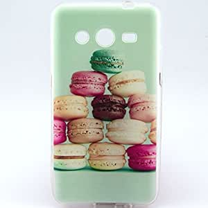 Galaxy Core 2 G355H Case, LUOLNH A lot of Hamburger Pattern TPU Soft Back Snap On Case Cover Protector for Samsung Galaxy Core 2 G355H G3556D G3559 by supermalls