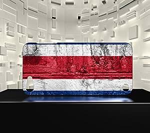 Funda Carcasa para iPod Touch 5 Bandera COSTA RICA 07