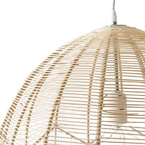 Kenay Home Elga, Lámpara de Techo, Blanco