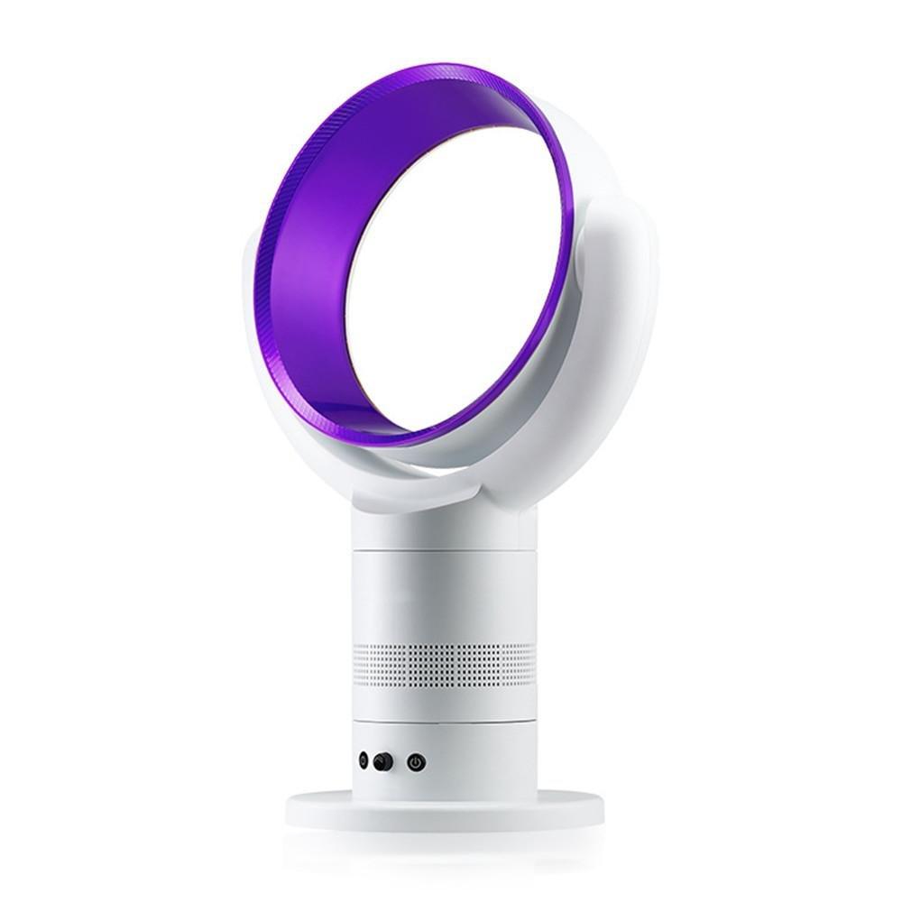 Fan Natural Fan No Fan Living Room Home Fan , purple by YAYONG