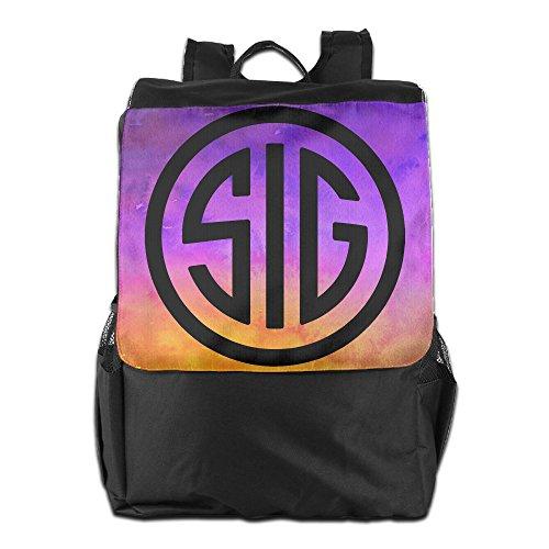 Sig Sauer Firearms Sig Logo Shoulder Travel Backpack for sale  Delivered anywhere in Canada