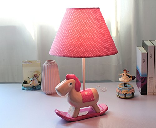 (New Animal Catoon Rocking Horse Night Light Table Desk Optical Illusion Lamps Lights LED Table Lamp Xmas Home Love Brithday Children Kids Baby Decor Toy Christmas Gift (dinosaur))