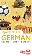 Learn German in just 15 minutes a day with this revolutionary language learning system, now with an accompanying free app that is available in the App Store and Google Play.       Practicing your language skills is quick, easy, and fun...
