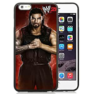 Beautiful iPhone 6 Plus 5.5 Inch TPU Case ,Unique And Lovely Designed With Wwe Superstars Collection Wwe 2k15 Roman Reigns iPhone 6 Plus Phone Case