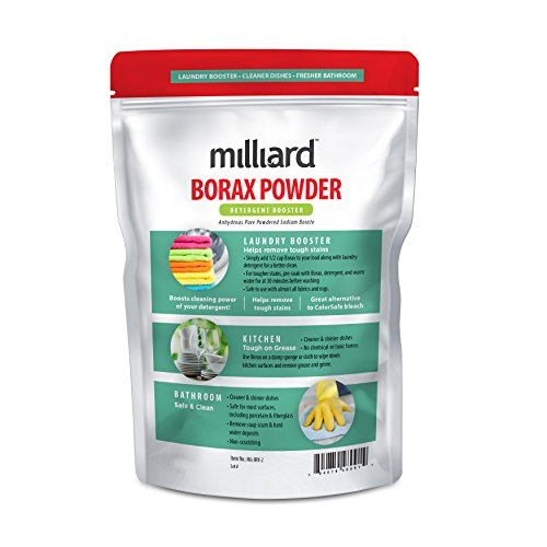 Milliard Borax Powder Pure Multi Purpose Cleaner 2 Lb