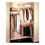 Rubbermaid Closet Organizer 3' - 5' - White