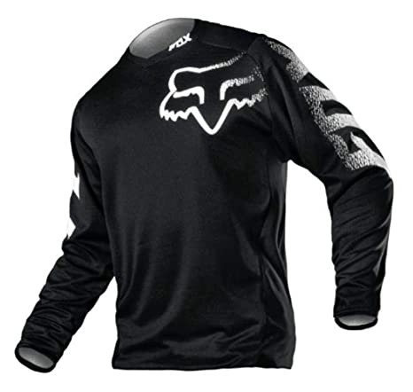 d59c00feee1 Amazon.com  Fox Racing Blackout Motocross Offraod Jersey- Large  Automotive