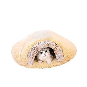 XBCWW Camas para Gatos, Camas para Perros para Perros Pequeños, Camas con Calefacción para