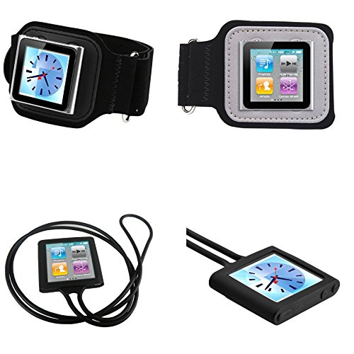 PiGGyB So Suede Armband for Apple iPod Nano 6 Generation