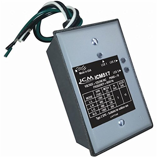 (ICM Controls ICM517 Single Phase Surge Protector with Nema Type 3R Rated Enclosure,  2.16