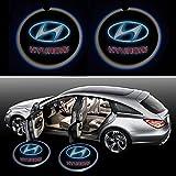 Beon Pack of 2 Hyundai Logo Wireless LED Car Door Light