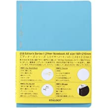 STALOGY 018 Editor's Series 1/2 Year Notebook (A5//Blue)
