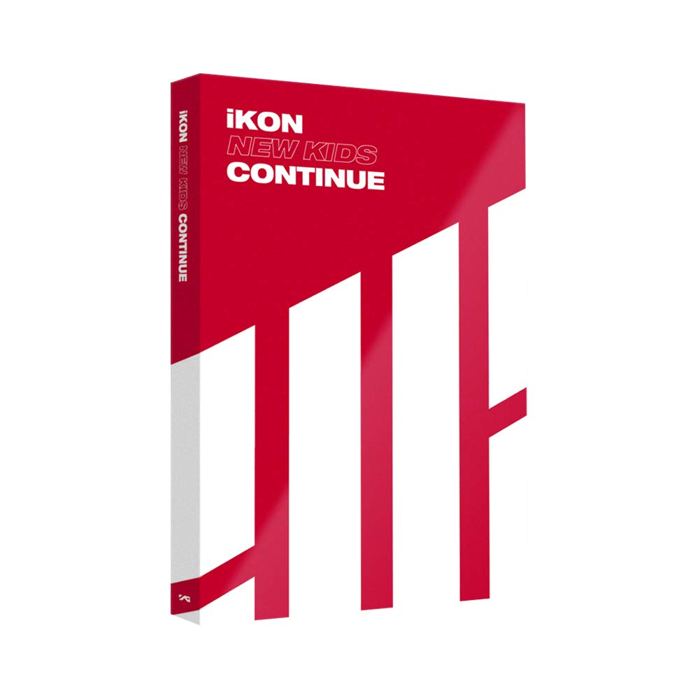 YG Entertainment Idol Goods Fan Products YG Select iKON MINI ALBUM NEW KIDS : CONTINUE RED VER.