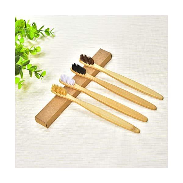 Cepillos de dientes de bambú - Vive sin plástico