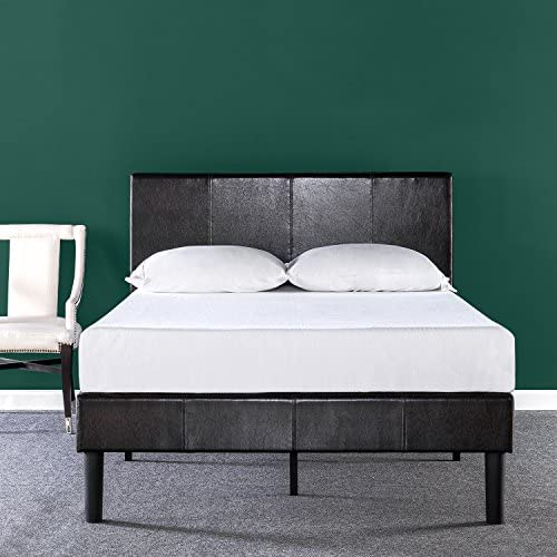 Best Price Mattress King Bed Frame – Presidio 14 Inch Heavy Duty Metal Platform Bed w Headboard Mattress Foundation No Box Spring Needed , Black