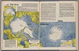 """Map Poster - Arctica. Antactica - 24""""x16"""""""