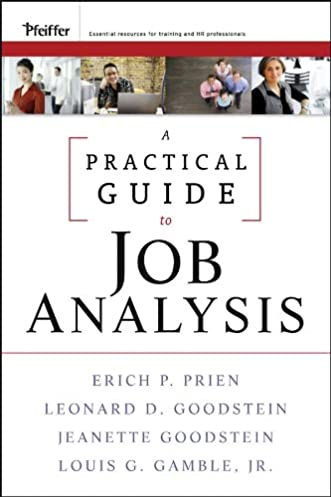 a practical guide to job analysis 9780470434444 human resources rh amazon com A Practical Guide to Splines a practical guide to job analysis pdf