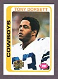 Tony Dorsett 1978 Topps Archives Rookie Reprint Card w/ Original Back (From 2001 Topps Archives) (Cowboys)