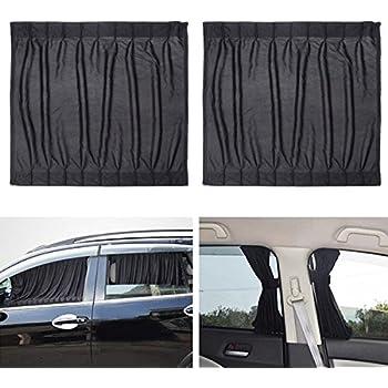 Amazon Com Uxcell 2 Pcs 70 X 53cm Car Side Window Sunshade