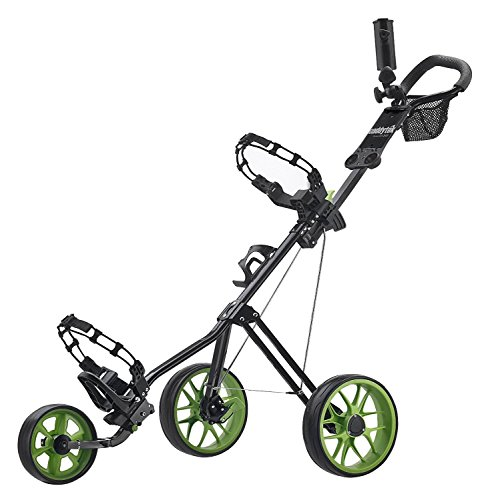 Caddytek Caddylite 11.5 V2 Superlite Deluxe Golf Push Cart Green