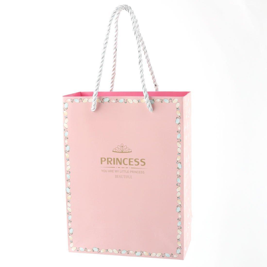 Amazon.com: eDealMax Modelo Rosado Papel Corona de cumpleaños de compras del Regalo del Partido Festival Bolsas soporte del contenedor de 4pcs: Home & ...